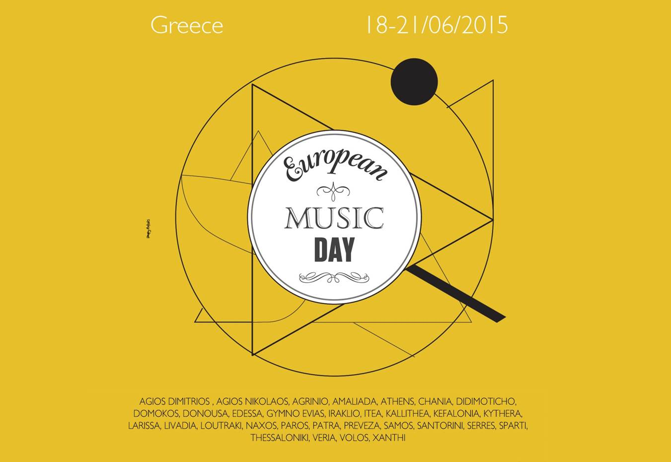 European Music Day Greece – Artwork 2015